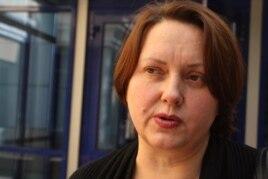 """Ганна Красильникова, юрист прессозащитной организации """"Адил соз"""". Алматы, 23 сентября 2013 года."""