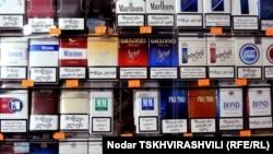 Cigarete u jednoj od trafika