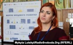 Начальница отдела информационных и внутреннеполитических вопросов Дружковского горисполкома Ирина Мамцева