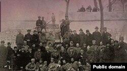 Parlamentari români în pribegia din Rusia (Foto: Centrul de Cultură și Istorie Militară, Chișinău)