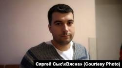 Блогер Уладзімер Цыгановіч, фота «Вясны»