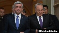Սերժ Սարգսյան, Նուրսուլթան Նազարբարև