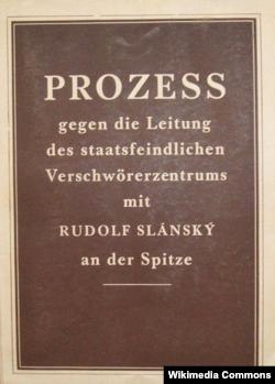 Actele procesului Slansky tipărite în mai multe limbi la Praga în 1952