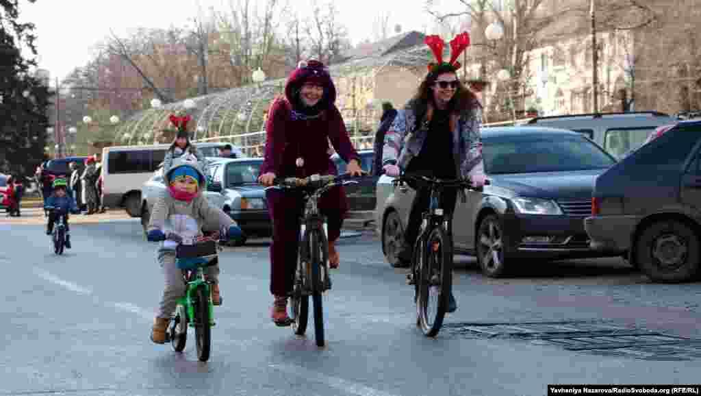 Вік учасників святкового велопробігу – від 5 до 75 років
