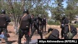 Антитеррористические учения. Алматинская область, август 2011 года.
