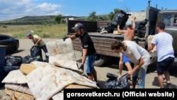 Украина, ГIирма - Маяк пляжера субботник, Товбецан-бетт 09, 2016-гIа шо.