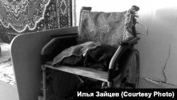 Инвалидная коляска в интернате