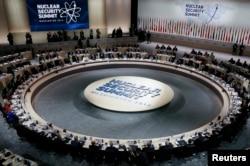 Открытие саммита по ядерной безопасности в Вашингтоне