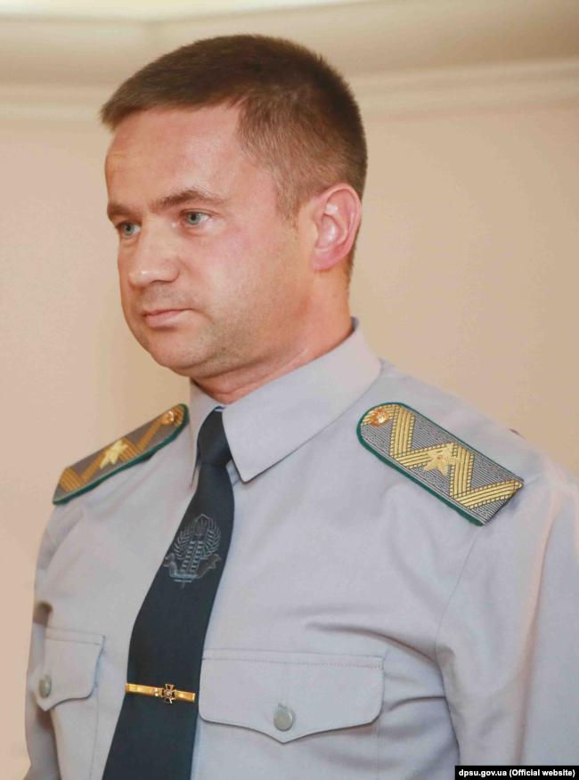 Вадим Слюсарєв – експрикордонник