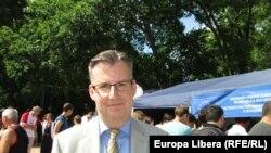 Dirk Schuebel la Tiraspol la 26 mai