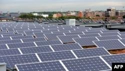 Solarne ploče, ilustracija
