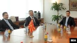 Средба меѓу поранешните премиери на Mакедонија - 07 септември 2011.