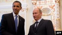 U.S. President Barack Obama (left) and has not met Russian President Vladimir Putin since his inauguration.