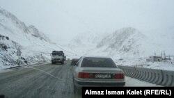 Перевал на дороге Бишкек - Ош. Иллюстративное фото.