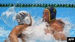 Финал Азиатских игр по водному поло Казахстан - Япония. Джакарта, 1 сентября 2018 года.