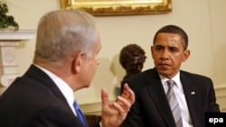 Барак Обама и Биньямин Нетаньяху