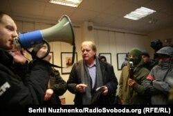 До центру приїхав його директор Костянтин Воробйов