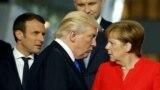 Tramp zatečen oštrinom EU