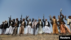 جنگجویان وفادار به انصارالله یمن
