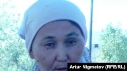 Кунсулу Отарбаева, житель города Жанаозен. 2 сентября 2011 года.