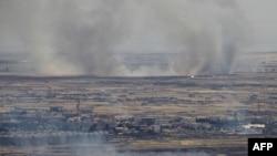 در پی جنگ سال ۱۹۷۳ اسرائیل و سوریه به توافق آتشبسی رسیدند که بر اساس آن منطقه غیرنظامی جولان نیروهای دو کشور را از یکدیگر جدا نگه میدارد.