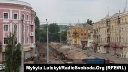 Старейшую улицу Краматорска реконструируют к юбилею города, 17 июля 2018 года