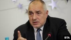 Бойко Борисов по време на заседанието.