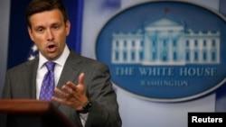 Пресс-секретарь Белого дома Джош Эрнест.