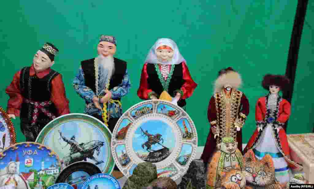 Татар-башкорт курчаклар
