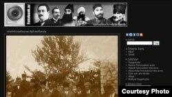 Fotobank.az saytının görüntüsü