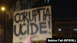 La protestele de stradă de la București