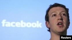Основатель социальной сети Facebook Марк Цукерберг.