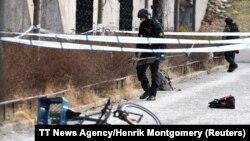 Policija na mestu eksplozije u Stokholmu