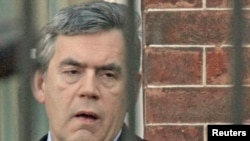 "Former British Prime Minister Gordon Brown was ""shocked"" at the use of criminals to access his personal records, while ""The Sun's"" disclosure that it knew of his son's medical condition reduced him and his wife, Sarah, to tears, he said."