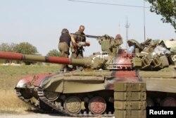 Украинские военнослужащие в Мариуполе