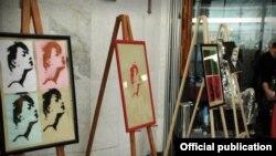Все представленные на экспозиции предметы и картины созданы руками людей, борющихся с наркозависимостью