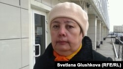 «Тұлпар-8» ТҚК үлескері Азиза Козова. Астана, 22 сәуір 2014 жыл.