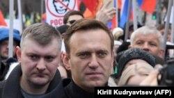 Архивска фотографија- рускиот опозициски политичар Алексеј Навални