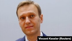 Russian opposition leader Aleksei Navalny (file photo)
