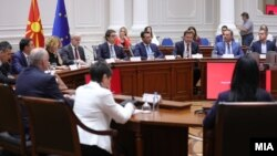Конститутивен состанок на Акциската група за координација на институциите на државата за борба против дезинформации и напади на демократијата