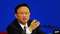 Ministri i jashtëm kinez, Jang Jieçi