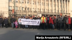 """""""Pravda za Mahira"""", Sarajevo"""