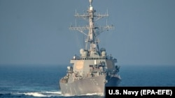 Эсминец ВМС США (архивное фото).
