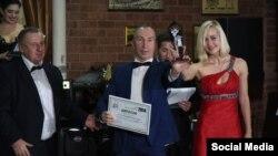 Урочистий прийом з нагоди вручення першої щорічної премії «Журналіст року». Крим, грудень 2014