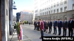 Premijerka Ana Brnabić odaje poštu Đinđiću