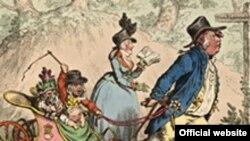 """Теперь """"Семейный променад"""" Джеймса Гиллрея и еще более 1000 гравюр можно увидеть не только в Пушкинском музее, но и в сети"""