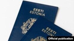Паспорт гражданина Эстонии. Иллюстративное фото.