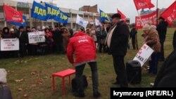 Мітинг у Євпаторії 10 грудня 2016 року