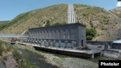 Armenia - One of the hydroelectric plants making up the Sevan-Hrazdan Cascade.