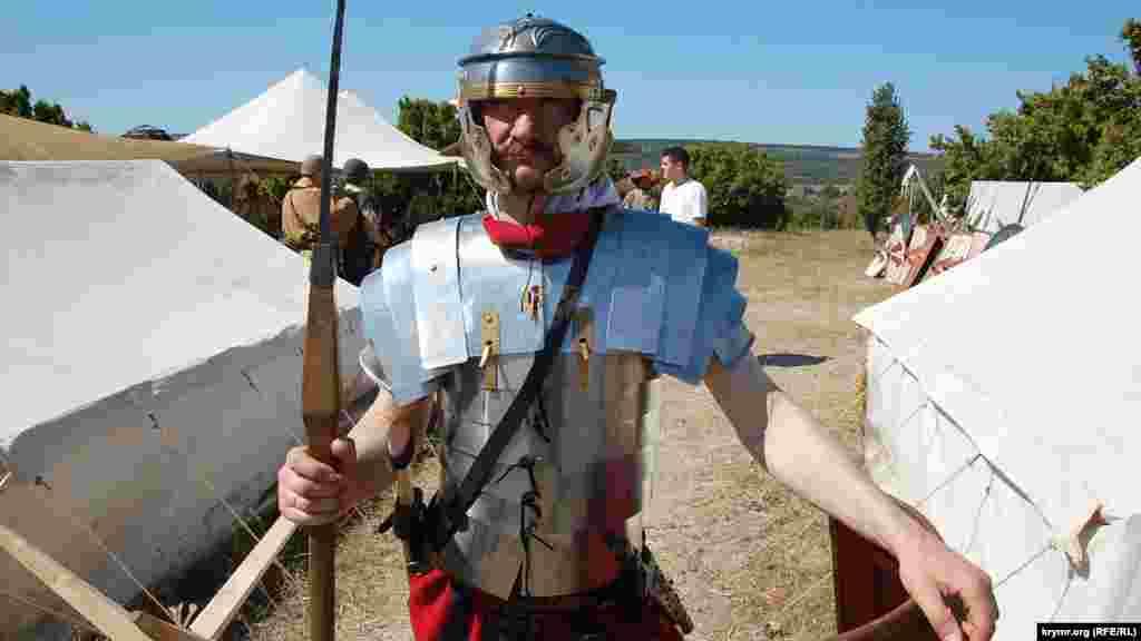 Вартовий у таборі римських легіонерів